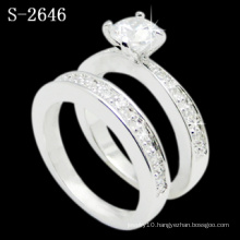 New Fashion Jewelry 925 Silver Rhodium Ring (S-2646. JPG)